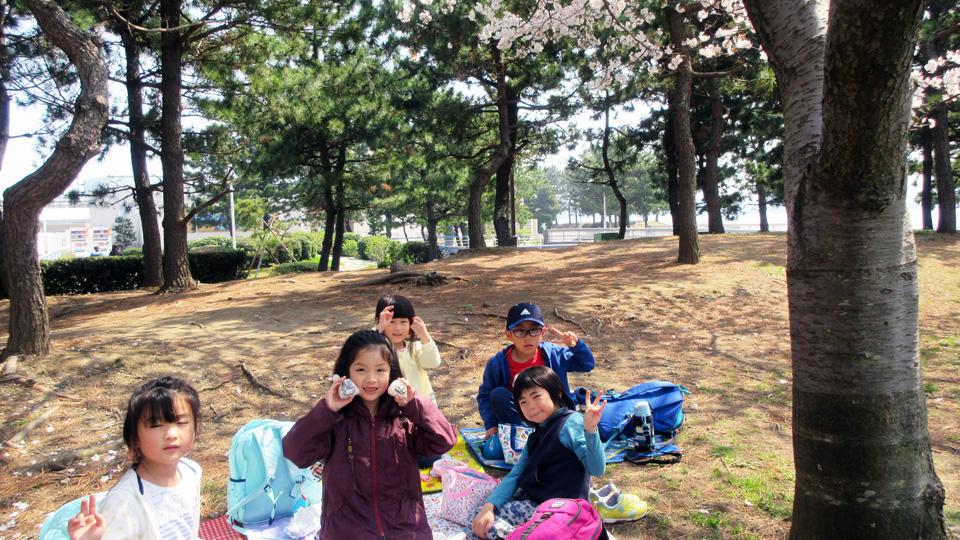 遠足 (ふるさと公園)
